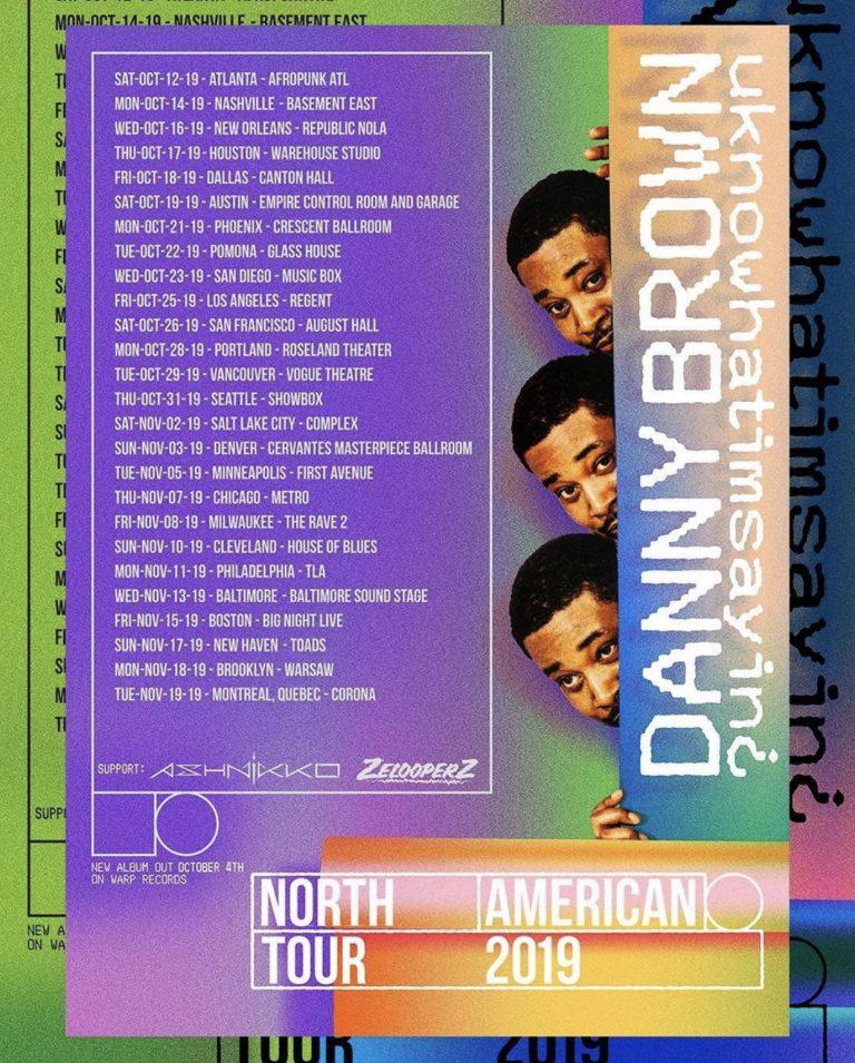 Krystal Lake Danny Brown Tour