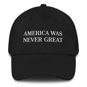 america was never great hat krystal lake