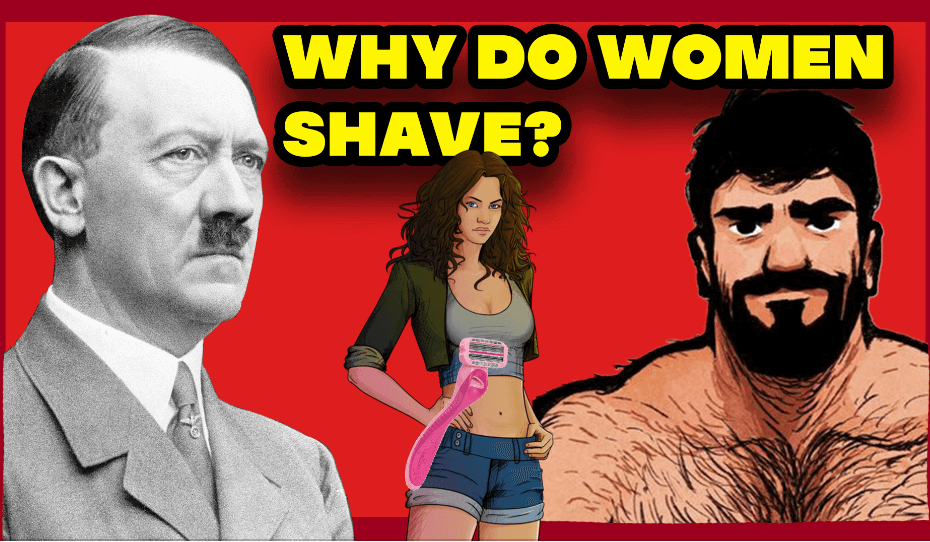 Why do Women shave thumbnail