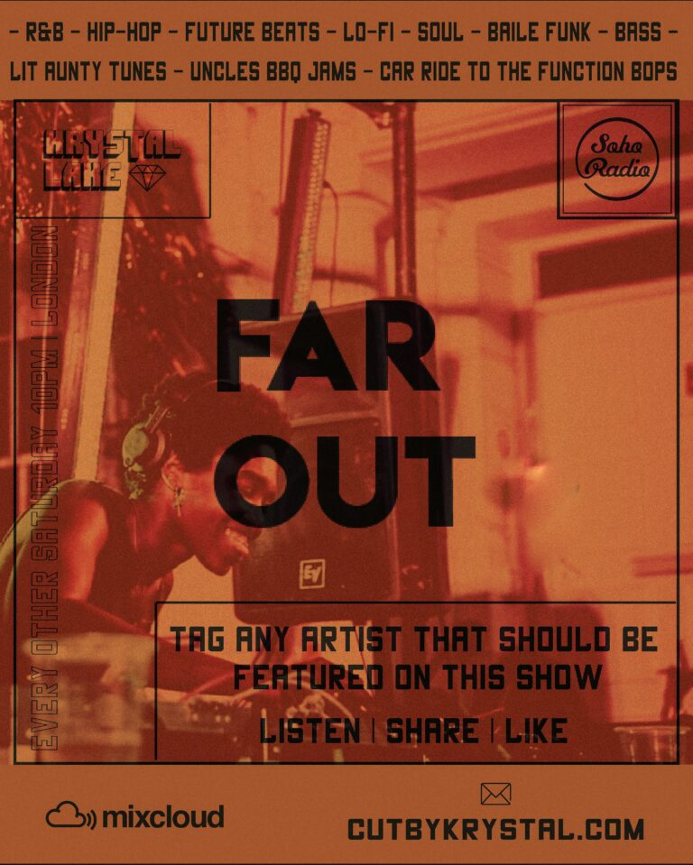 Soho Radio Far Out Krystal Lake DJ Krystal Lake